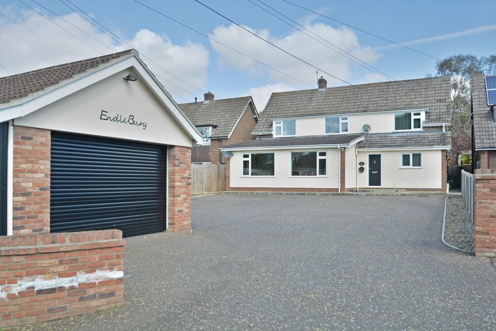 4 Bedrooms Detached House for sale in Bungay Road, Scole