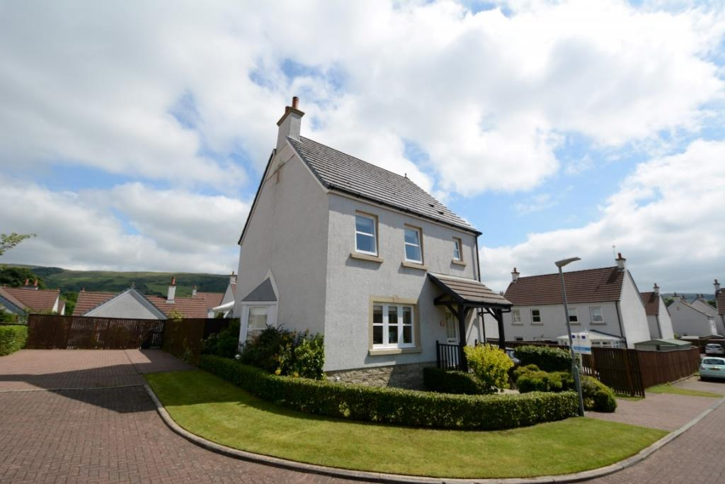 3 Bedrooms Detached Villa House for sale in 23 Noddleburn Place, Largs, KA30 8UE