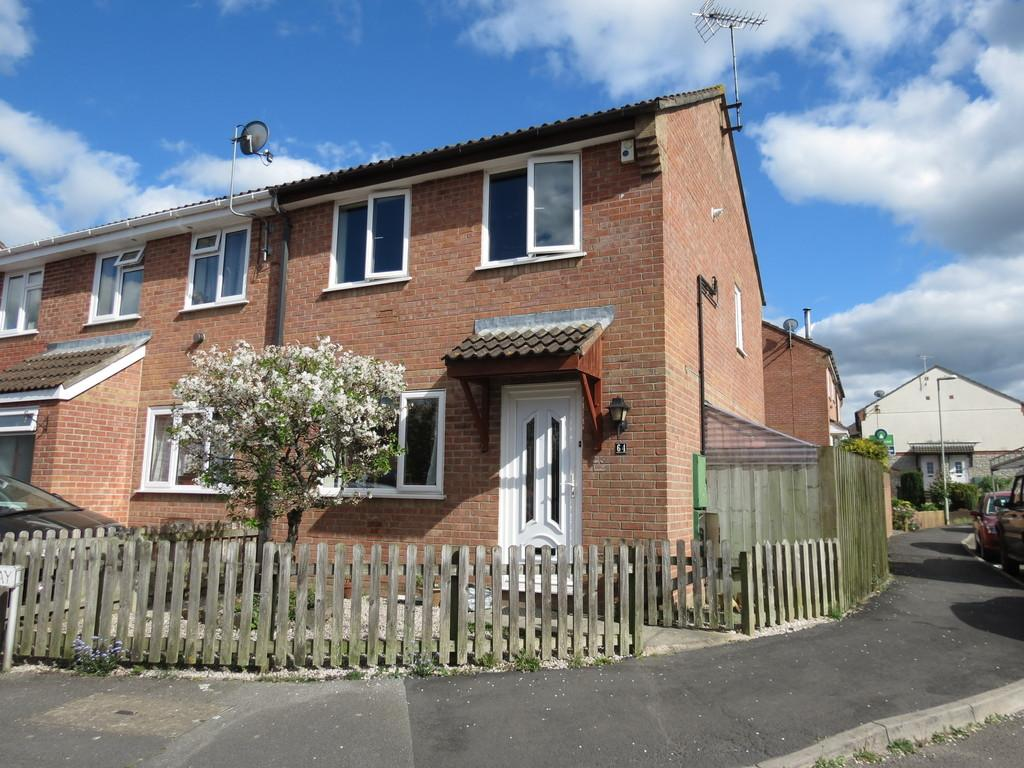 3 Bedrooms Semi Detached House for sale in Drum Way, Heathfield, Newton Abbot