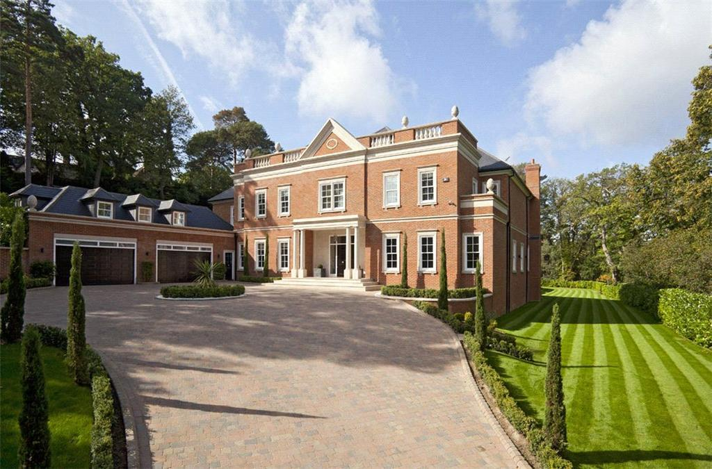 6 Bedrooms Detached House for sale in Yaffle Road, St George's Hill, Weybridge, Surrey, KT13