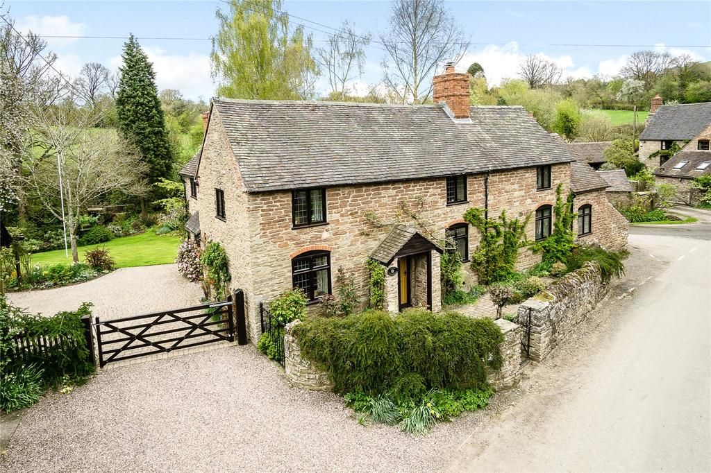 4 Bedrooms Detached House for sale in Clee St. Margaret, Craven Arms, Shropshire