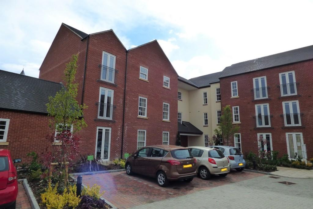 2 Bedrooms Apartment Flat for sale in Bainbridge Court, Kilwardby Street , Ashby De La Zouch