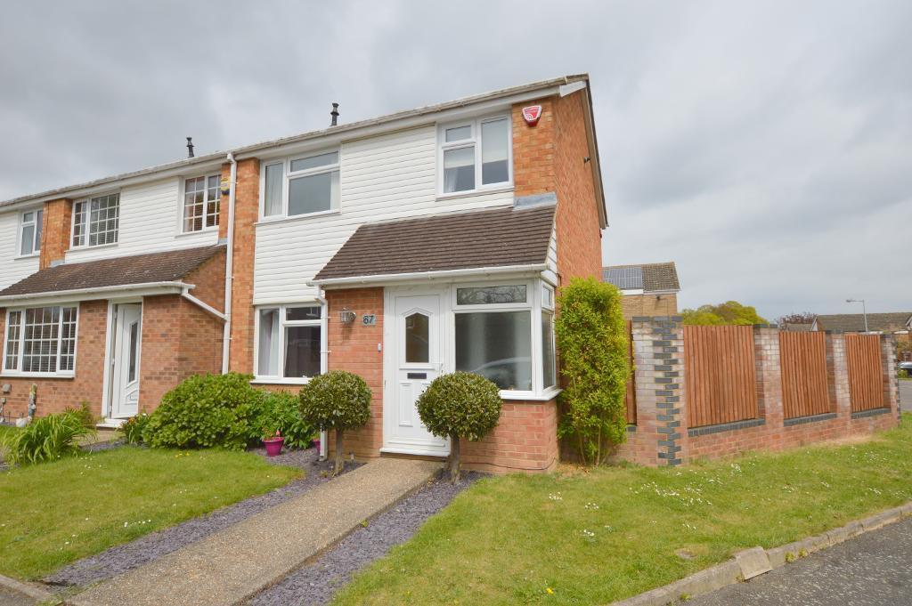 3 Bedrooms End Of Terrace House for sale in Bracklesham Gardens, Stopsley, Luton, LU2 8QJ