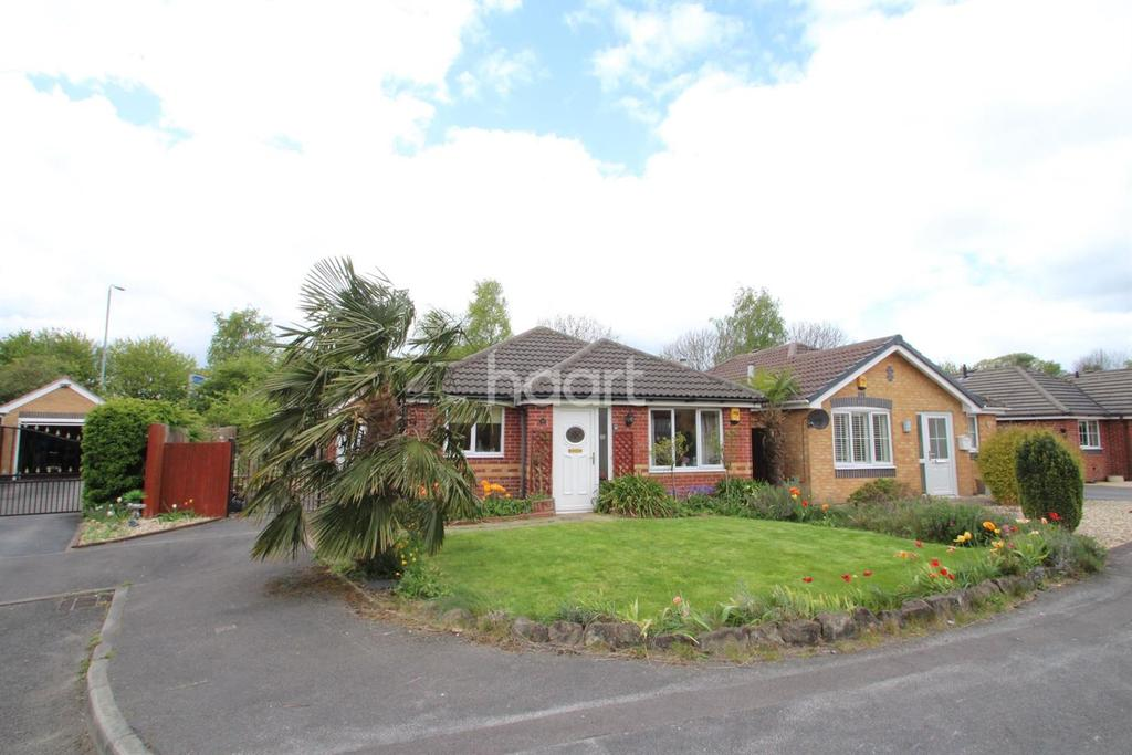2 Bedrooms Bungalow for sale in Annies Close, Hucknall