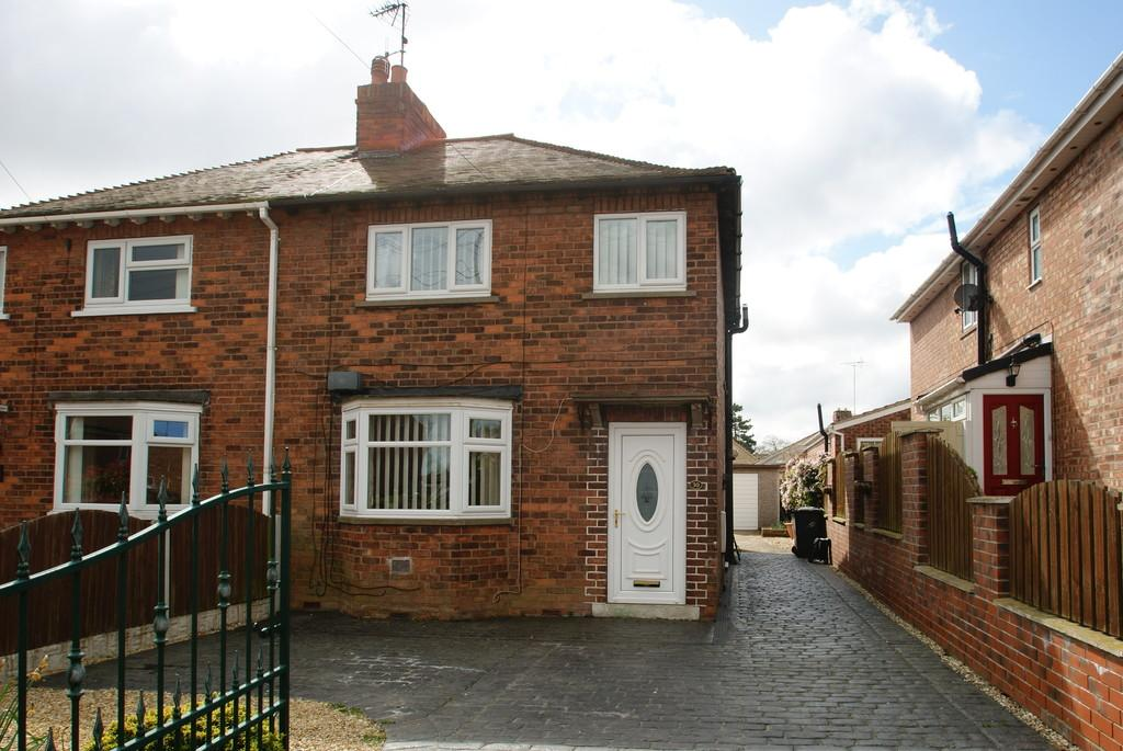 2 Bedrooms Semi Detached House for sale in King Edward Road, Tickhill