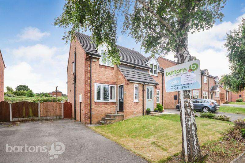 2 Bedrooms Semi Detached House for sale in Constable Way, Dalton, Rotherham