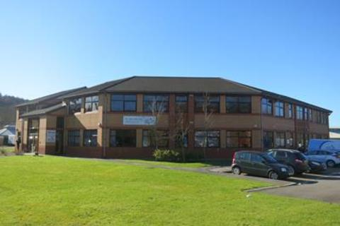 Office to rent - The Octagon, Caerphilly Business Park, Caerphilly, CF83