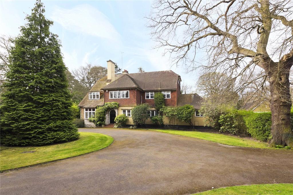 6 Bedrooms Detached House for sale in East Road, St George's Hill, Weybridge, Surrey, KT13