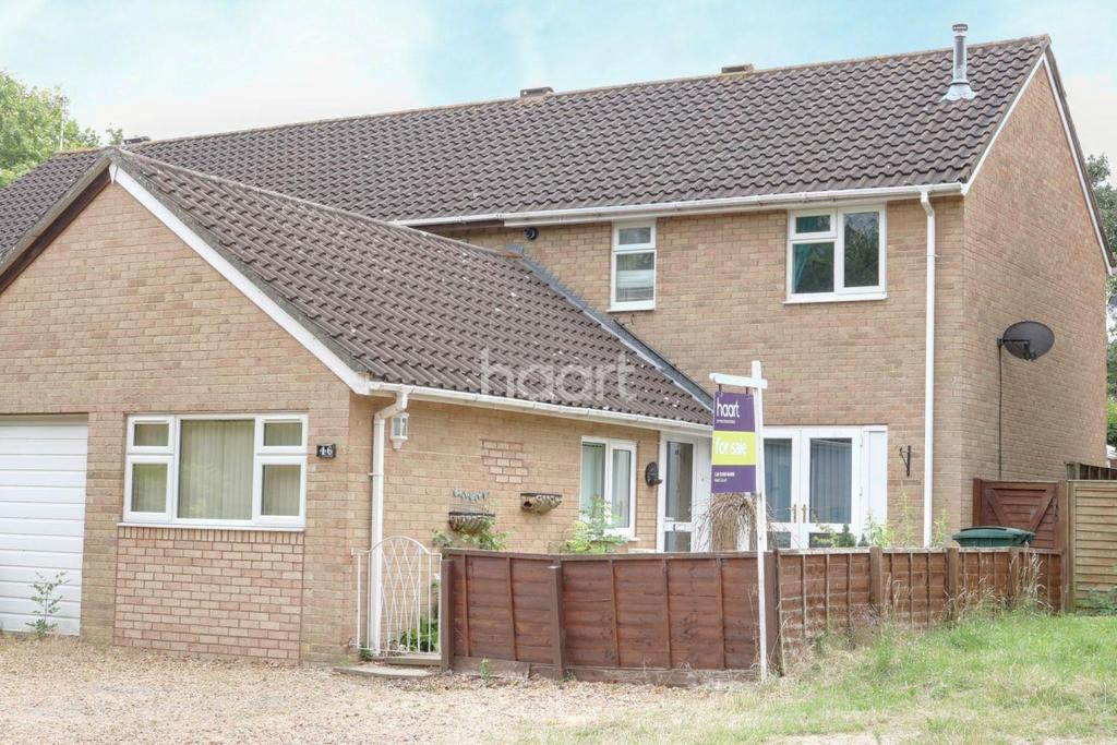 3 Bedrooms Semi Detached House for sale in Downs Barn, Milton Keynes