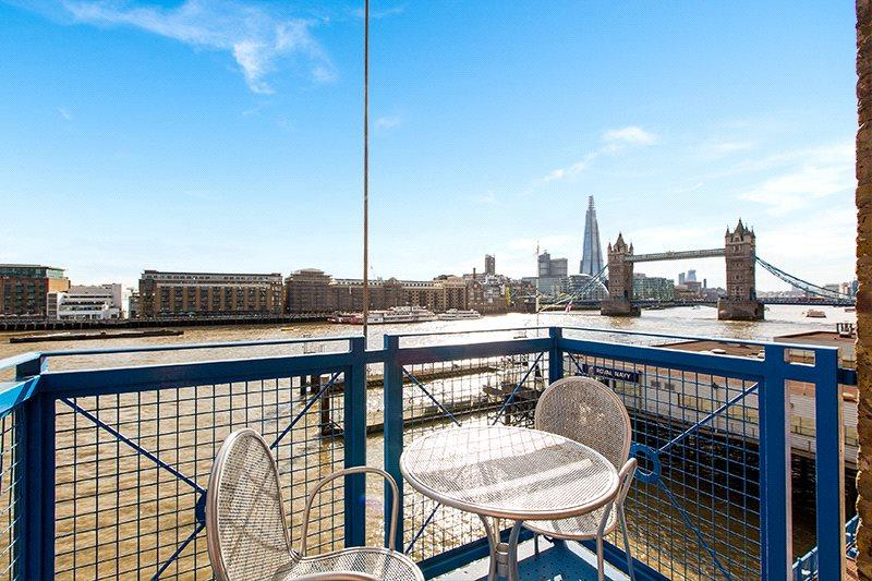 2 Bedrooms Flat for sale in Millers Wharf House, 78 St. Katharines Way, London, E1W