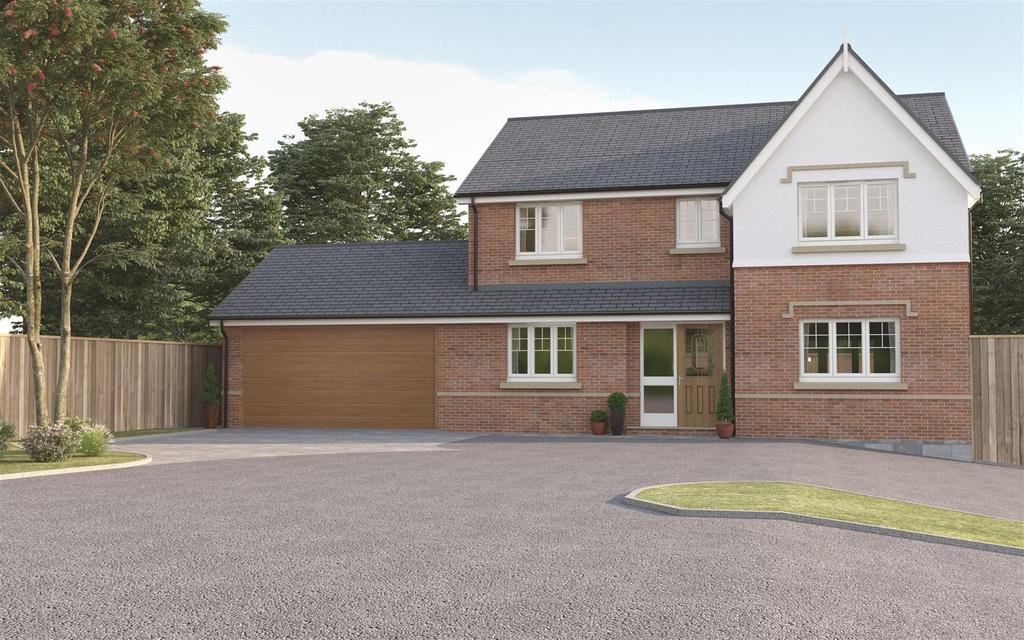 4 Bedrooms Detached House for sale in Warton Lane, Austrey, Nr Atherstone