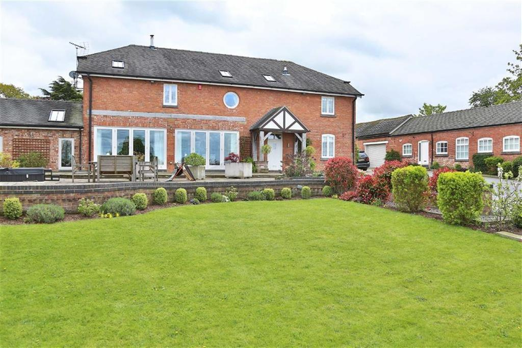 5 Bedrooms Barn Conversion Character Property for sale in Hall Lane, Hankelow Crewe, Cheshire