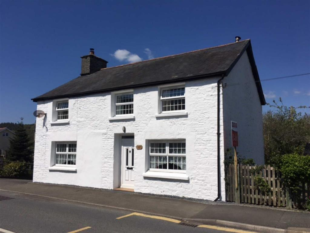 4 Bedrooms Detached House for sale in Glanadail House And Ger Y Bont Annexe, Llanilar, Aberystwyth, SY23