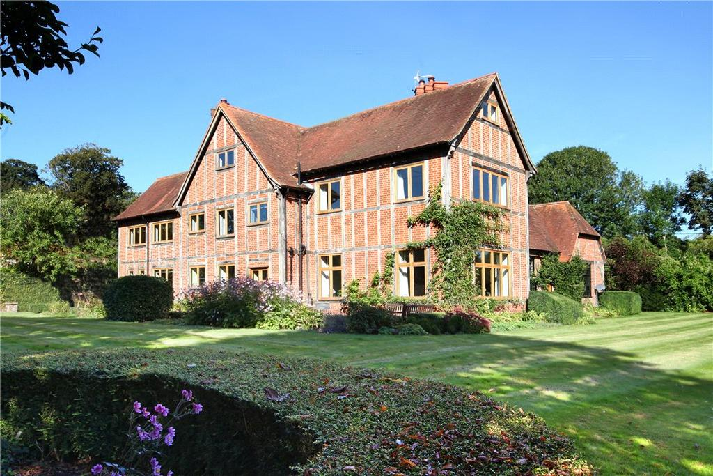 5 Bedrooms Detached House for sale in Lees Hill, In South Warnborough, Hook, Hampshire, RG29