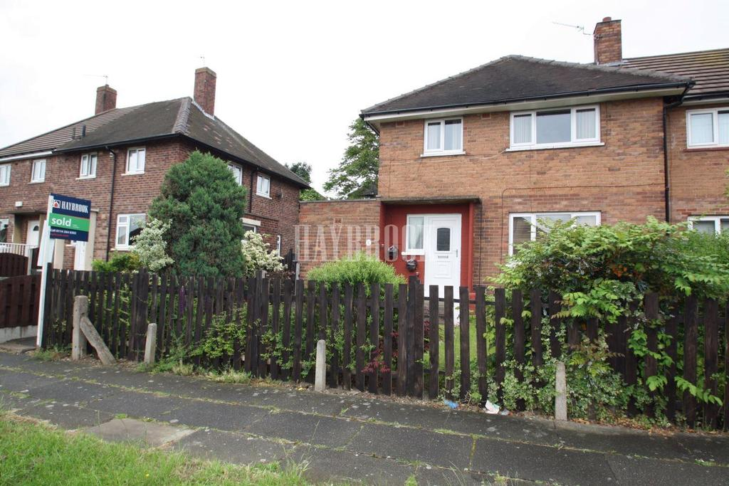 3 Bedrooms Semi Detached House for sale in Kilvington Road, Woodthorpe, S13
