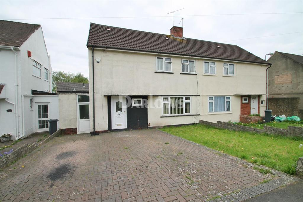3 Bedrooms Semi Detached House for sale in Caeglas Road, Rumney, Cardiff