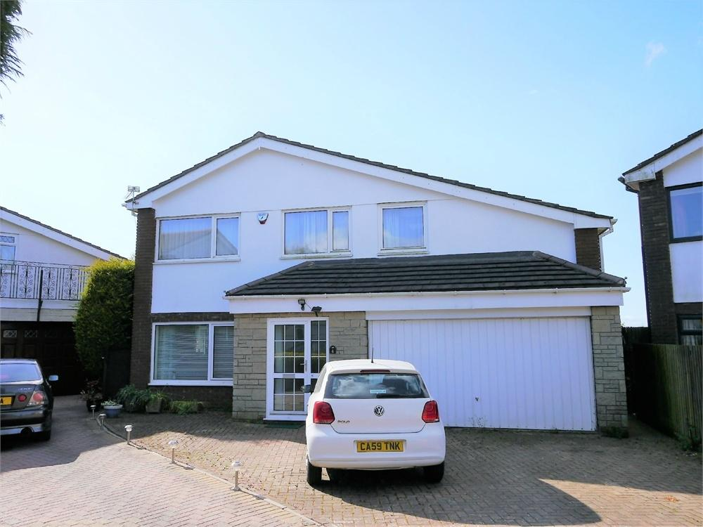 5 Bedrooms Detached House for sale in Erw'r Delyn Close, Penarth