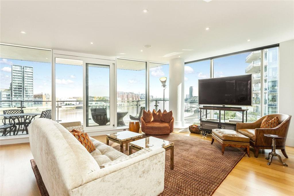 2 Bedrooms Flat for sale in Kingfisher House, Battersea Reach, Juniper Drive, London, SW18