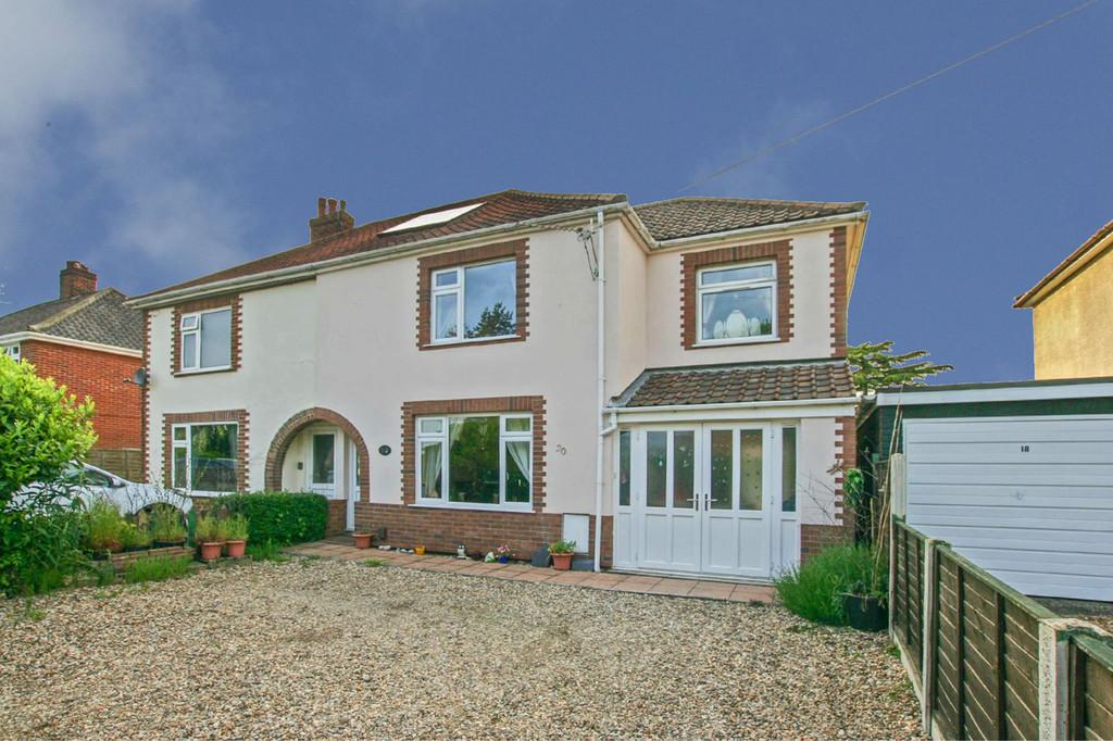 3 Bedrooms Semi Detached House for sale in Middletons Lane, Norwich