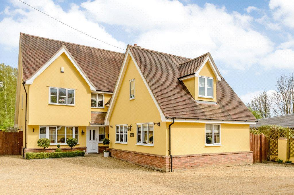 5 Bedrooms Detached House for sale in Church Road, Great Hallingbury, Bishop's Stortford, CM22