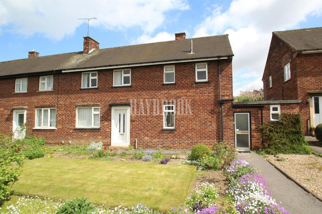 3 Bedrooms Semi Detached House for sale in Broom Valley Road, Broom