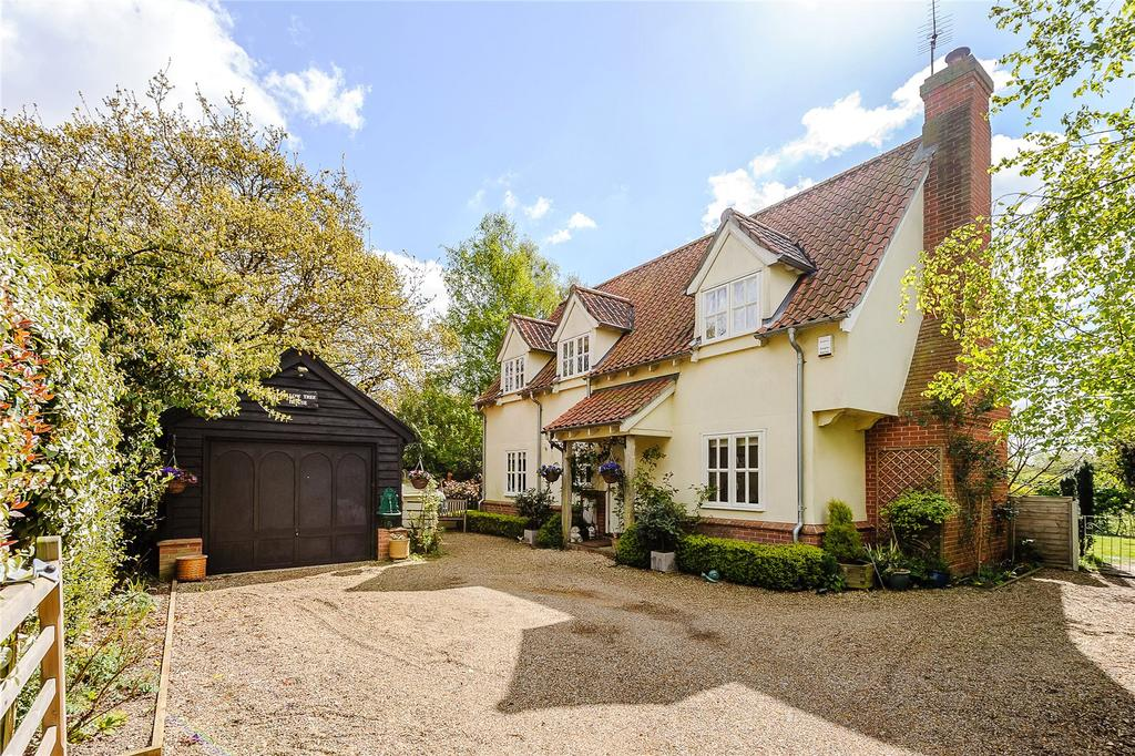 4 Bedrooms Detached House for sale in Snape Road, Sudbourne, Woodbridge, Suffolk