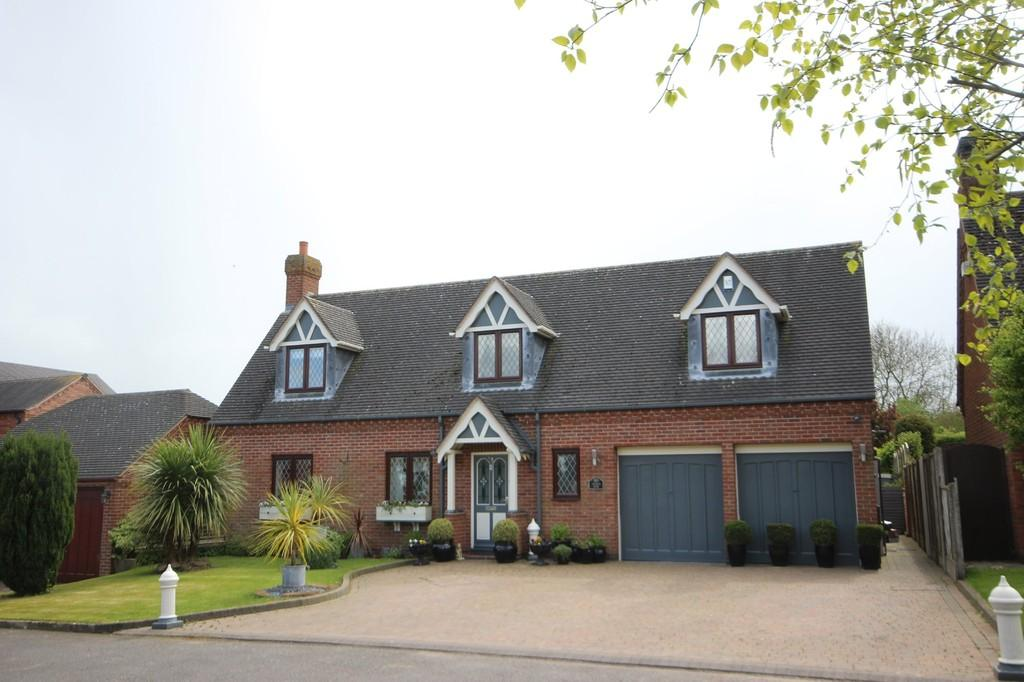 4 Bedrooms Detached House for sale in Orton Lane, Norton Juxta Twycross