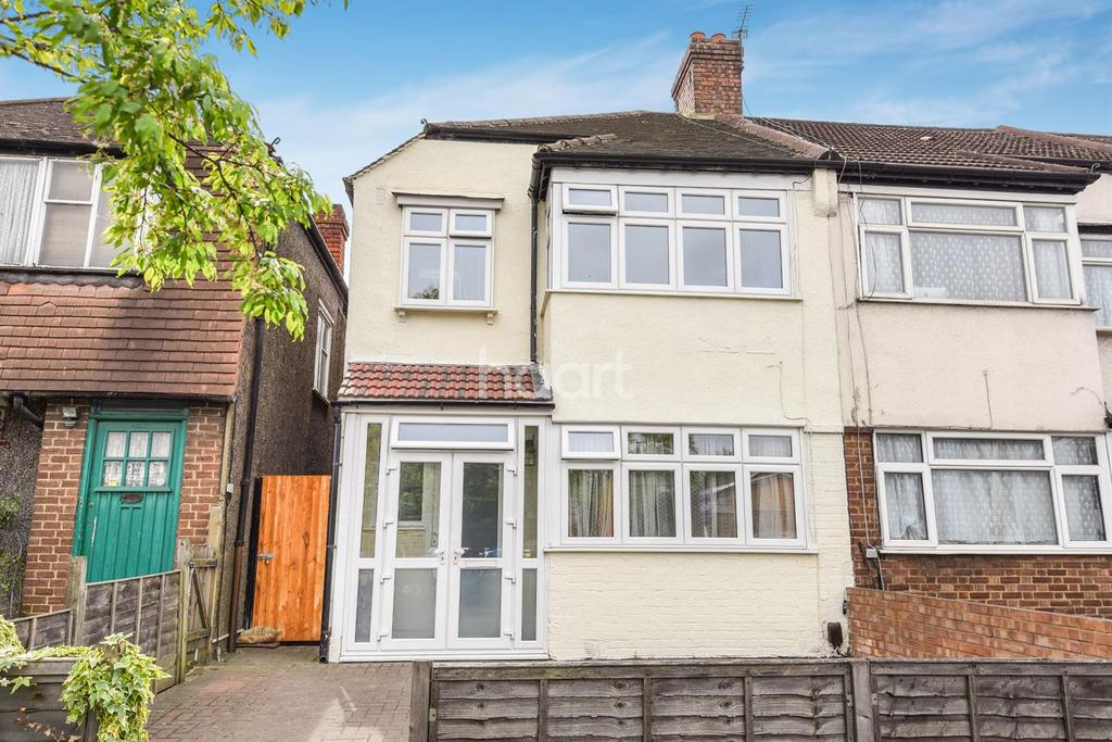 3 Bedrooms End Of Terrace House for sale in Croydon
