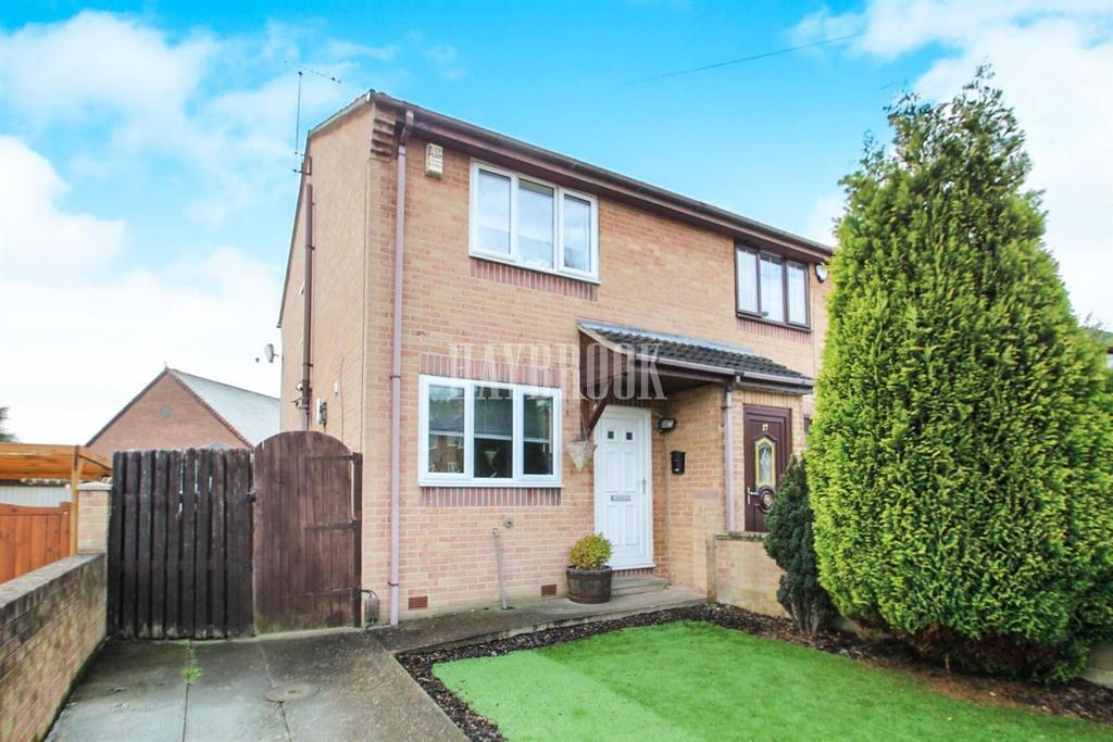 2 Bedrooms Semi Detached House for sale in Arthur Street, Worsbrough