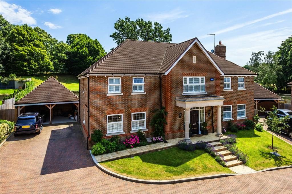 6 Bedrooms Detached House for sale in Horizon Close, Brasted, Westerham, Kent, TN16