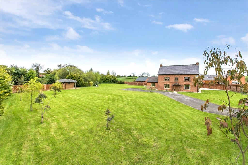 6 Bedrooms Detached House for sale in Wrexham Road, Ridley, Tarporley, Cheshire, CW6
