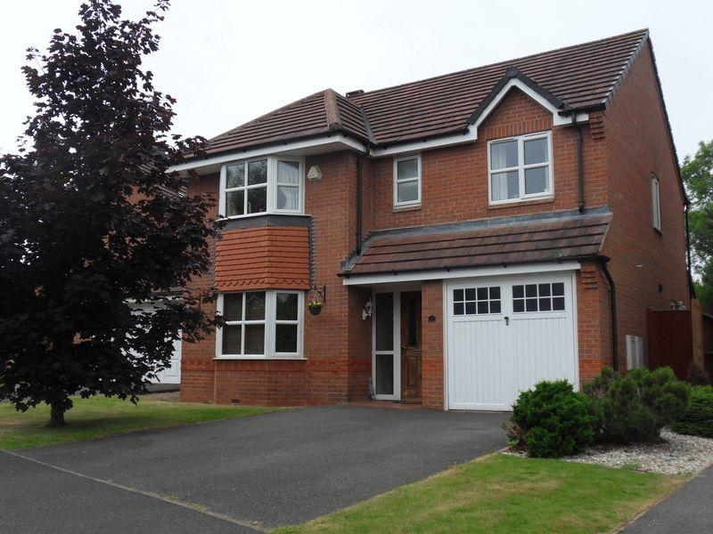 4 Bedrooms Detached House for sale in Flatts Close, Ibstock