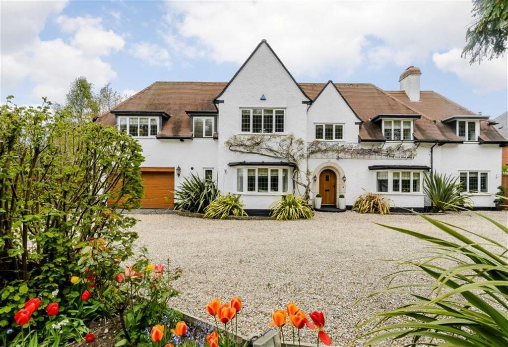 5 Bedrooms Detached House for sale in Streetly Lane, Four Oaks, Sutton Coldfield