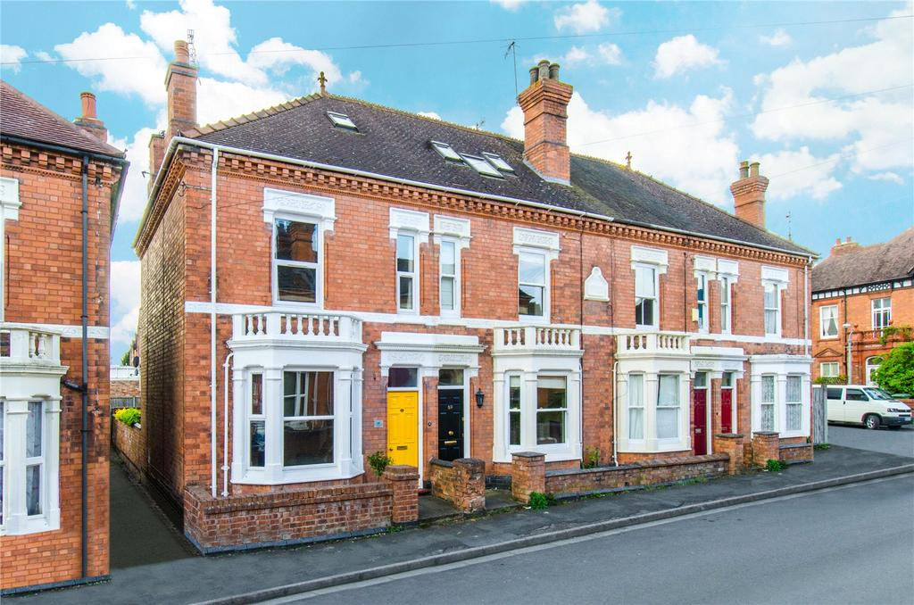 4 Bedrooms End Of Terrace House for sale in Battenhall, Worcester
