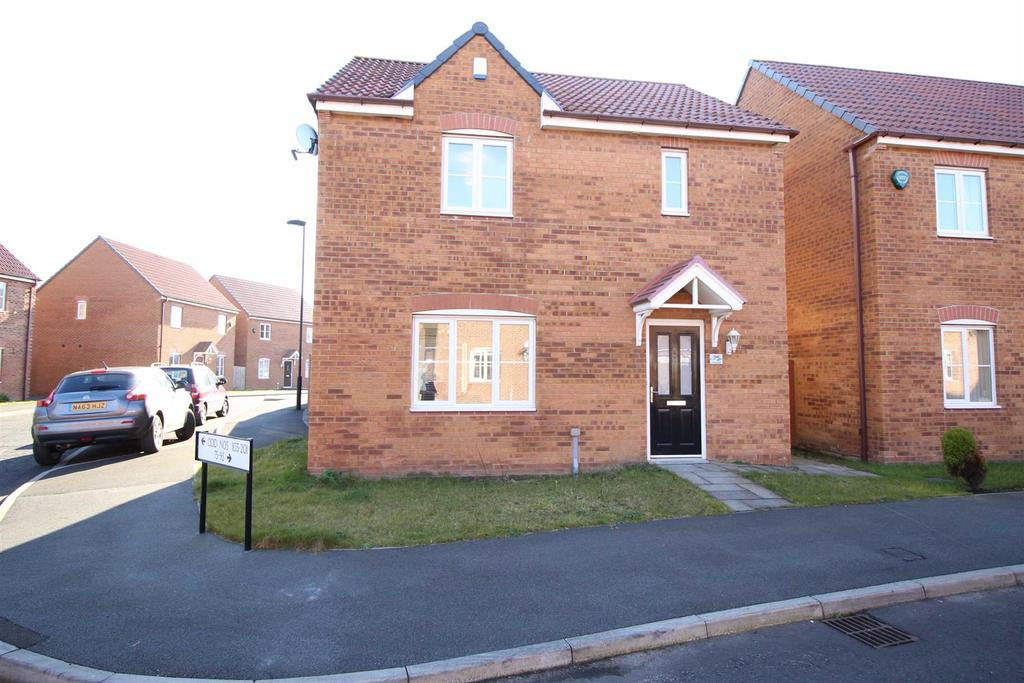 3 Bedrooms Detached House for sale in Cloverfield, Northumberland Park