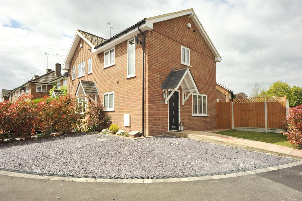 2 Bedrooms End Of Terrace House for sale in Thrift Green, Brentwood, Essex, CM13