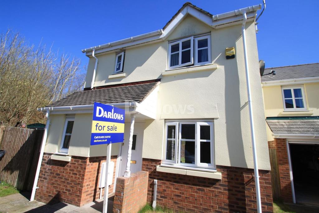 3 Bedrooms Detached House for sale in Lakeside Close, Nantyglo, Gwent