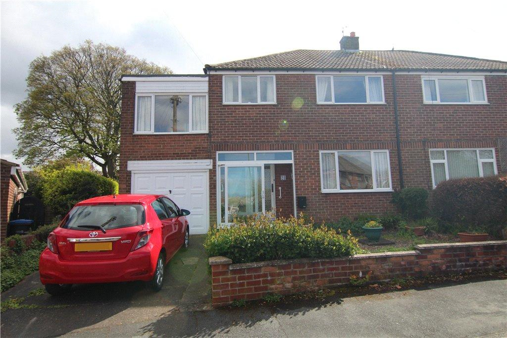 4 Bedrooms Semi Detached House for sale in Swinside Drive, Belmont, Durham, DH1