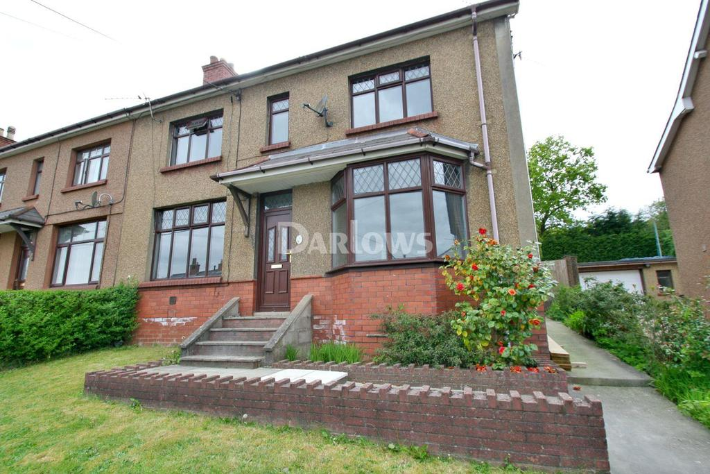 4 Bedrooms Semi Detached House for sale in Sycamore Road, Griffithstown, Pontypool