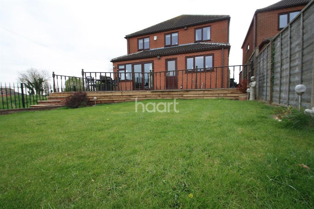 4 Bedrooms Detached House for sale in Broughton Road, Croft, Leicester