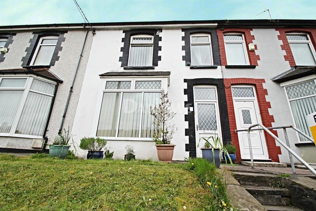 3 Bedrooms Terraced House for sale in Aberfawr Terrace, Abertridwr