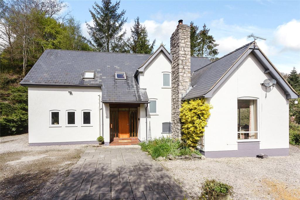 3 Bedrooms Detached House for sale in Bontuchel, Ruthin, Denbighshire