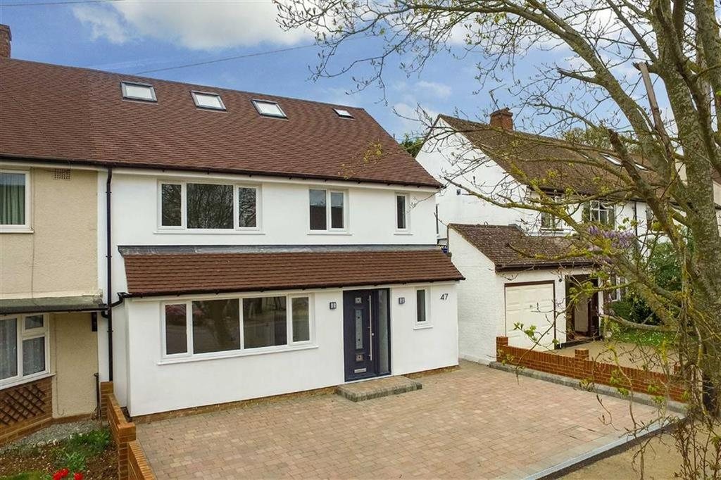 5 Bedrooms Semi Detached House for sale in Grove Avenue, Harpenden, Hertfordshire, AL5