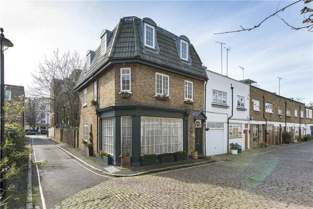 4 Bedrooms Semi Detached House for sale in Northwick Close, London, NW8