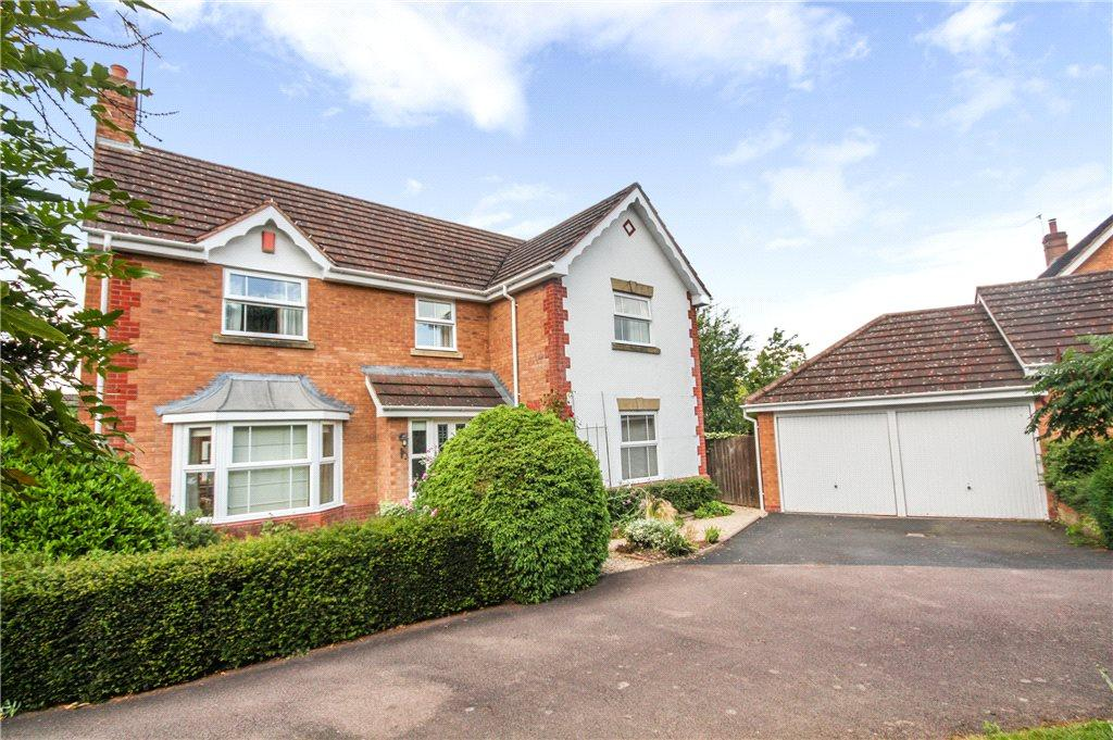 4 Bedrooms Detached House for sale in Corfe Avenue, Worcester, Worcestershire, WR4