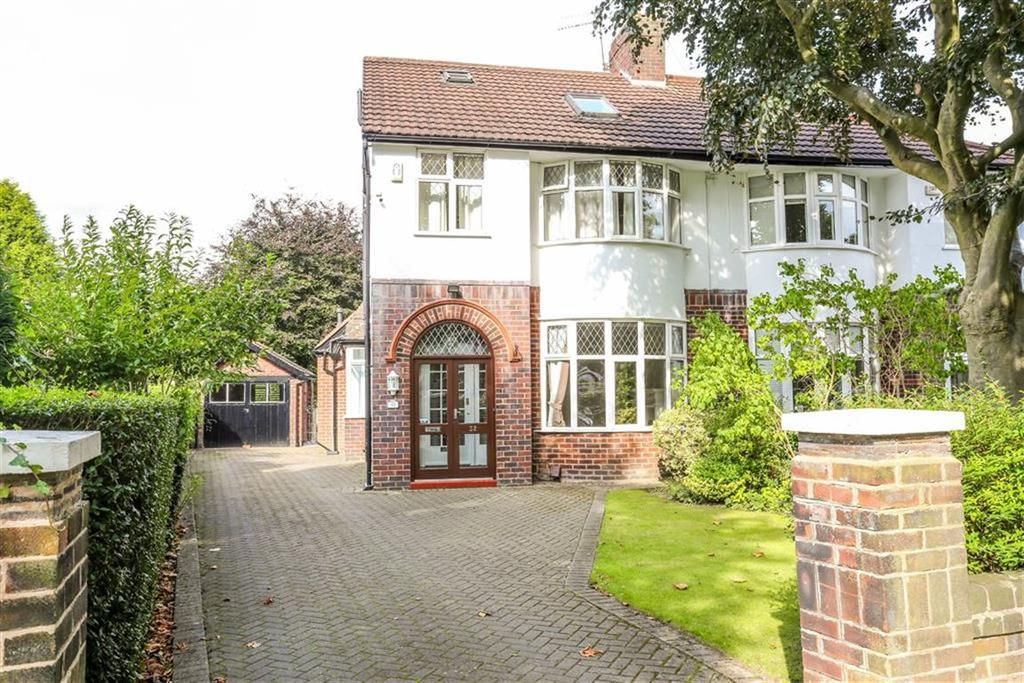 4 Bedrooms Semi Detached House for sale in Thornhill Road, Heaton Mersey
