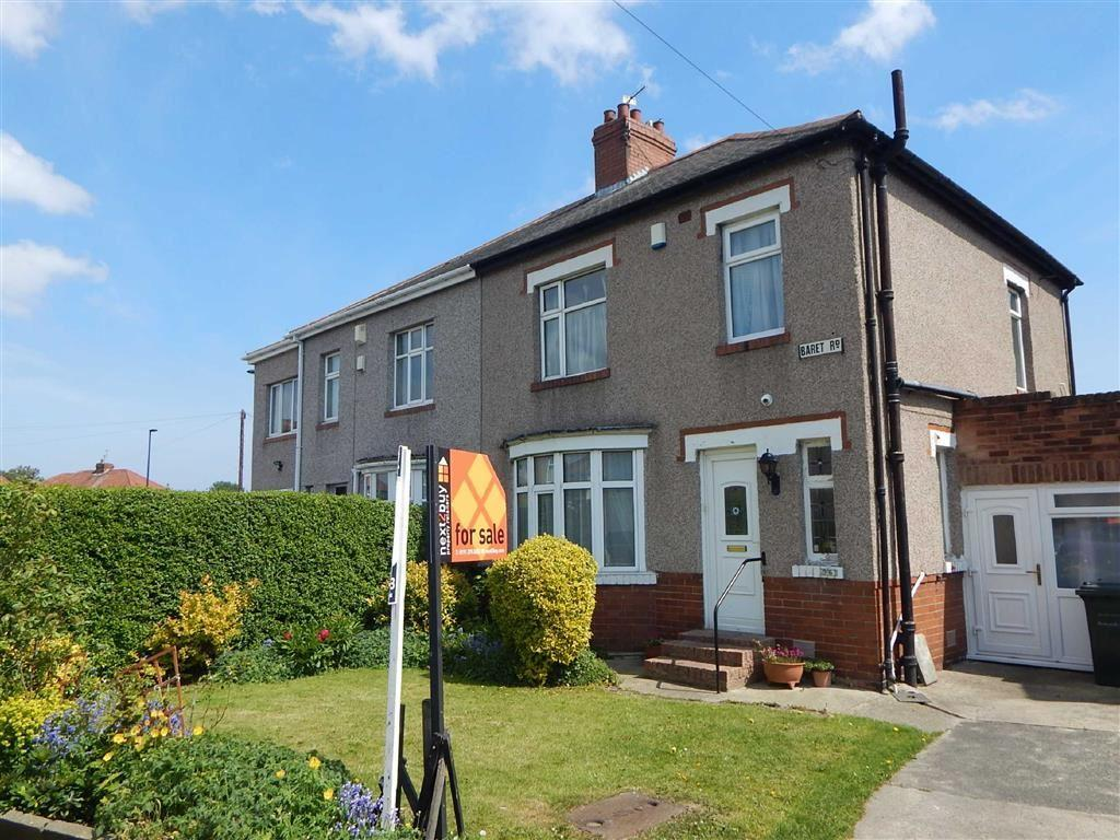 3 Bedrooms Semi Detached House for sale in Baret Road, Walkergate, Tyne And Wear, NE6