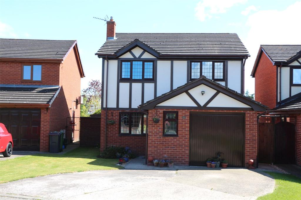3 Bedrooms Detached House for sale in Meadowcroft, Cross Lanes, Wrexham, LL13