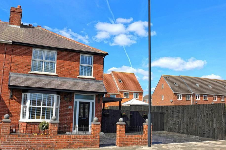3 Bedrooms Semi Detached House for sale in Kings Road South, Wallsend, Tyne And Wear
