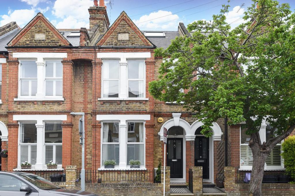 4 Bedrooms Semi Detached House for sale in Cecil Road, Wimbledon, SW19
